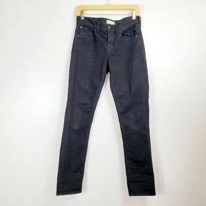 Madewell Slim Boy Jeans Size 25 Dark Wash Black